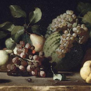 포도와 석류가 있는 정물