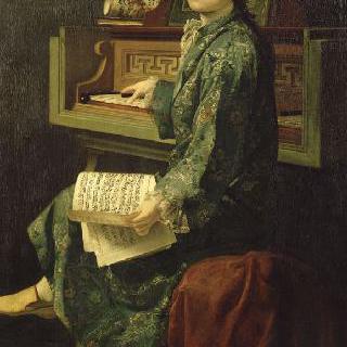 젊은 음악가의 초상