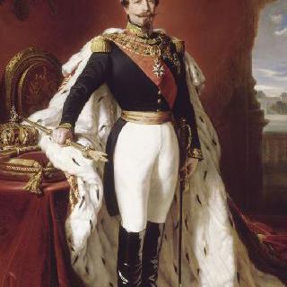 나폴레옹 3세 황제 전신상 (1808-1873)