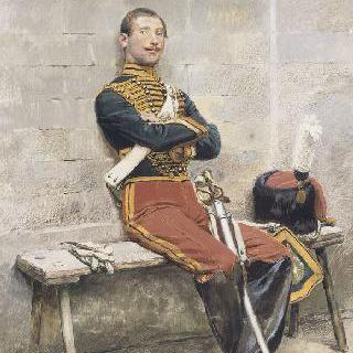 나폴레옹 3세의 호송관 복장을 한 화가의 형제
