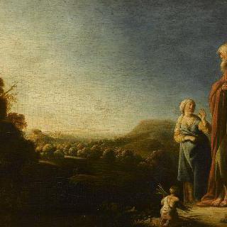 아가르를 버린 아브라함