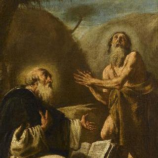 성 바오로와 은둔자 성 앙투안
