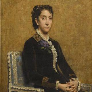 조제프 마넁 부인의 초상