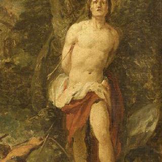 성 세바스찬의 순교 (초벌화)