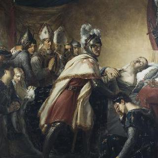 튀니지 앞에서의 성 루이의 죽음, 1270년 8월 25일