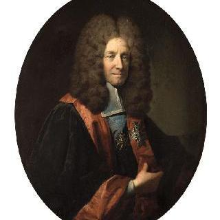 루이 드 퐁샤르트랭의 초상 (1643-1727), 브르타뉴 의회의 의장