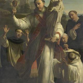 기독교 이적들로부터 성모의 동상을 지키는 성 이야생트