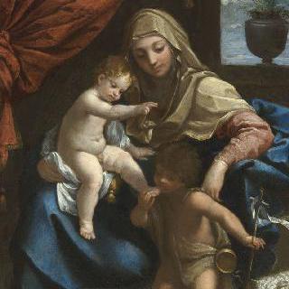 성모, 어린 예수와 성 장 바티스트