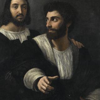 친구와 함께 있는 화가의 초상