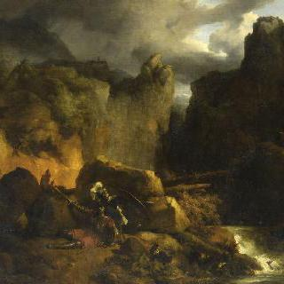 풍경 - 롤랑의 죽음, 778년