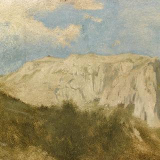 카프리의 솔라리오 산의 전경