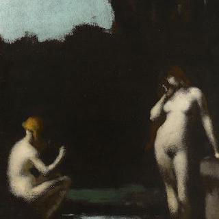 전원시 ; 1872년 살롱 작품의 복제본