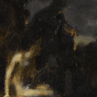 성 세바스찬, 1888년 살롱전 작품을 위한 습작