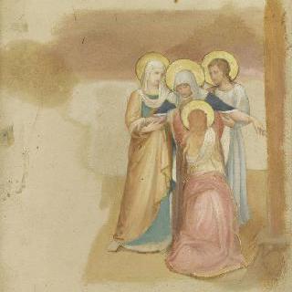 예수 수난도의 세부 (산 마르코 수도원 작품)
