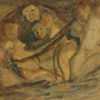 목욕하는 여인들