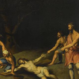 십자가에 못 박힌 예수