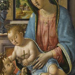 성 장 바티스트와 함께 있는 성모와 아기 예수