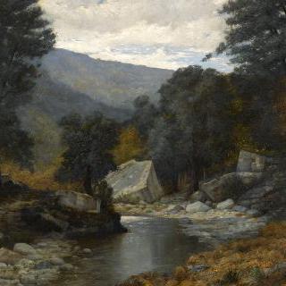 10월의 크리스티나크 강