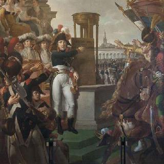 밀라노에서 시잘판 공화국을 선포하는 보나파르트 장군, 1797년 7월 9일