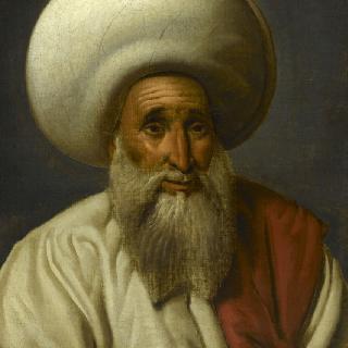 족장 압달라 알 차르카위의 초상, 카이로 디완의 지배자 (1740-1812)