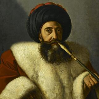 족장 칼리 엘 바크리의 초상 (-1808)
