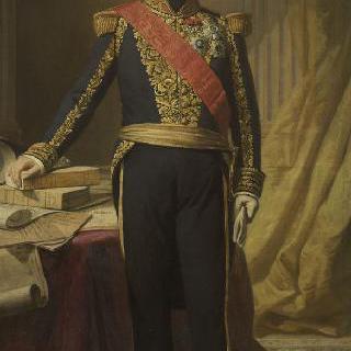 앙주 르네 아르망, 맥코우 남작 (1788-1855), 해군 대장, 해군성 대신