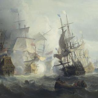 텍셀 하구에서 벌어진 해전, 1673년 8월 21일