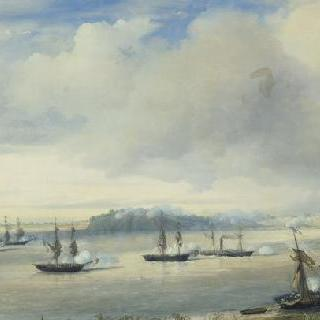 푼토 오블리가도 앞에서 벌어진 해전, 1845년 11월 20일