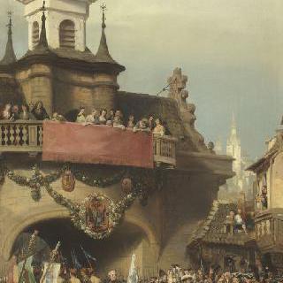 바이에른 선거에서 프라하의 열쇠를 다시 획득한 모리스 드 삭스, 1741년 11월 26일