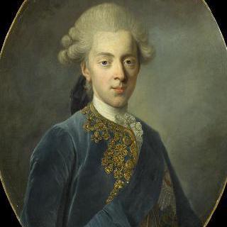 덴마크와 노르웨이의 왕 크리스티앙 7세, 1766년 (1749-1808)