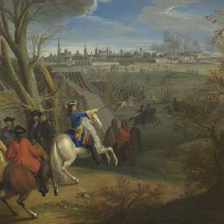 캉브레 앞에서 야전 중인 프랑스 군대, 1677년 3월 22일