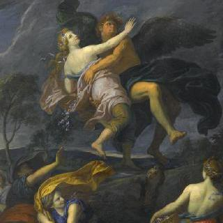 오레이티아를 납치하는 보레아스