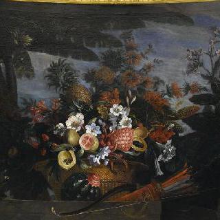 아메리카의 과일과 꽃