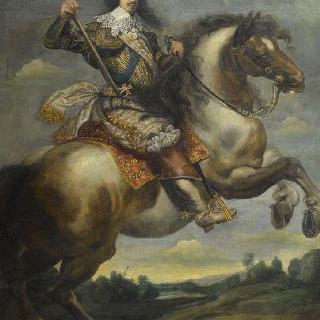 프랑스의 왕 루이 13세, 기마 초상 (1601-1643)