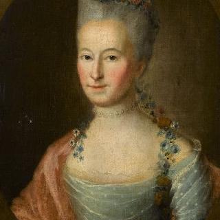 안 마리 드 몽티베 코펜스 부인의 초상