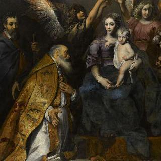 성모의 발 밑에 있는 성 엘루아