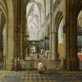 앙베르 성당의 내부