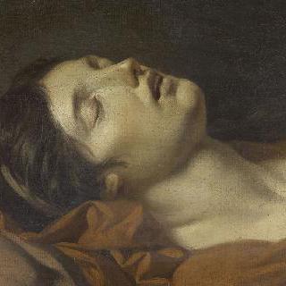 죽은 젊은 여인의 얼굴