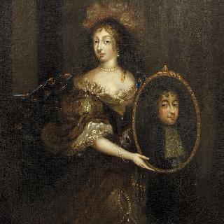 오를레앙 공작 부인 앙리에트 당글레테르와 오를레앙 공작의 초상
