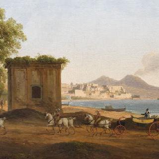 파우질리페에서 바라본 나폴리 만
