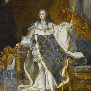 프랑스의 왕, 루이 15세의 초상