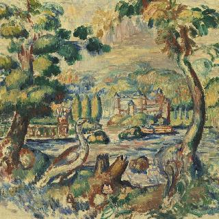 풍경, 태피스트리용 그림