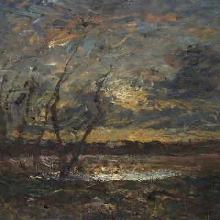 크레미유 부근의 풍경