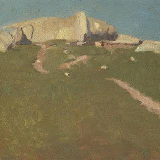 브르타뉴의 바위산
