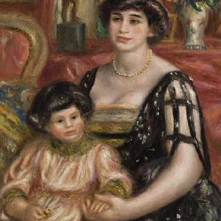 조스 베른하임 죈 부인과 그녀의 아들 헨리