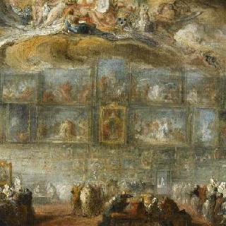 1779년 루브르 살롱의 전경