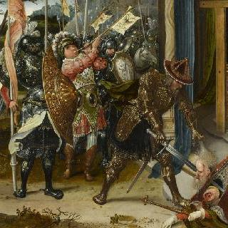 코스로에스 왕을 참수하는 헤라클리우스