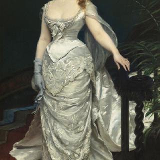 X양의 초상, 앙포르티 후작 부인