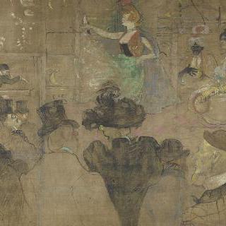 라 굴뤼의 바라크를 위한 패널, 파리 푸아르 뒤 트론