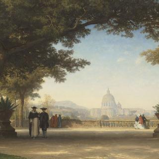 팜필리 빌라의 테라스, 로마